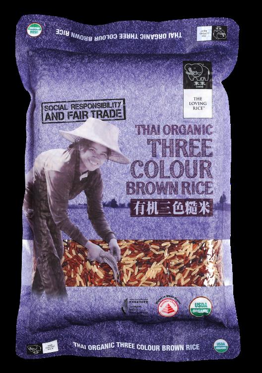Three Colour Brown Rice 1